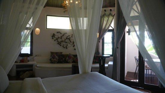 Koh Tao Cabana: Chambre White Sand Sala