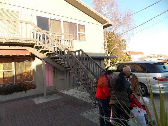 Sequoia - Acacia Lodge Motel: notre chambre