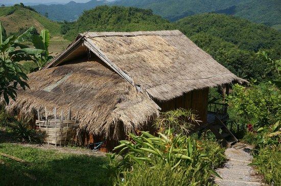 Bamboo Nest de Chiang Rai: A bamboo hut