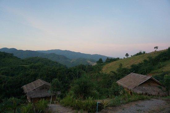 Bamboo Nest de Chiang Rai: Mountain view