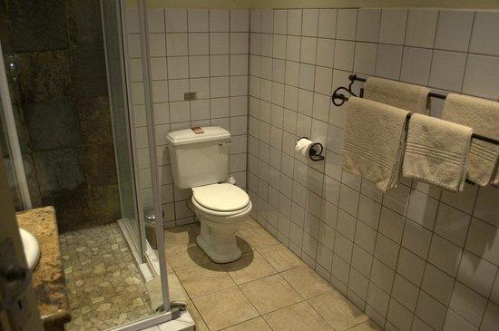 Protea Hotel Hluhluwe & Safaris: Badezimmer