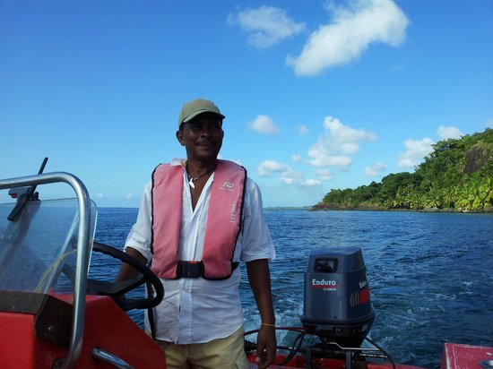 Princesse Bora Lodge & Spa: Le skipper ANICE
