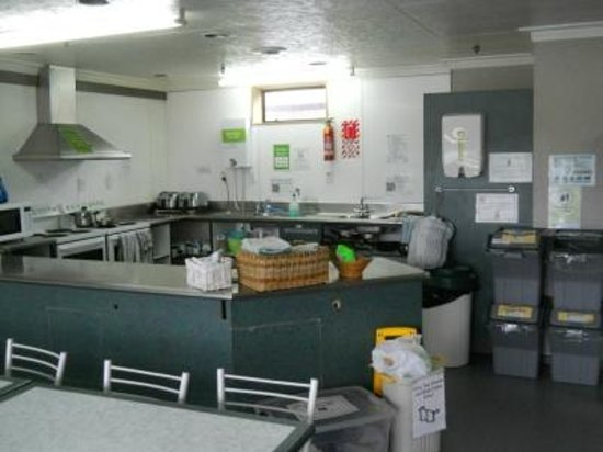 YHA Queenstown Central: Kitchen corner