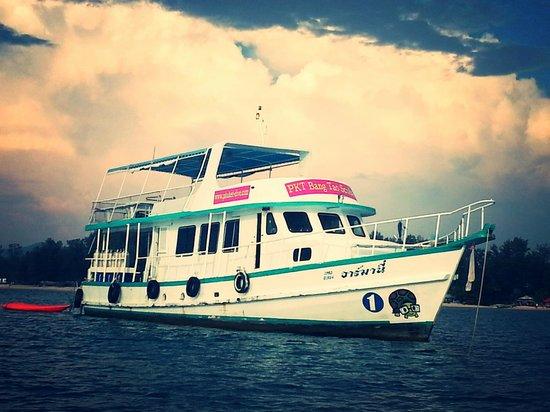 Bang Tao Beach, تايلاند: Armani our pride here at Bang Tao Scuba!!!
