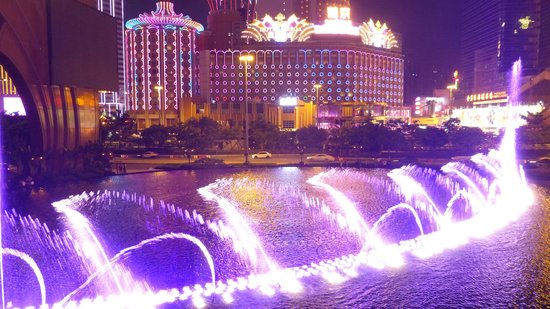 Wynn Performing Lake in Macau