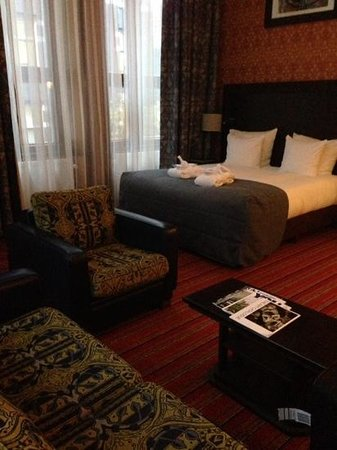 Grand Hotel Amrath Amsterdam: very comfortable room