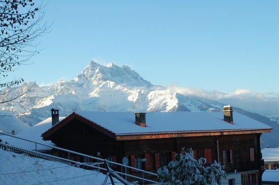 Residence Panorama Villars: Vue de la terrasse