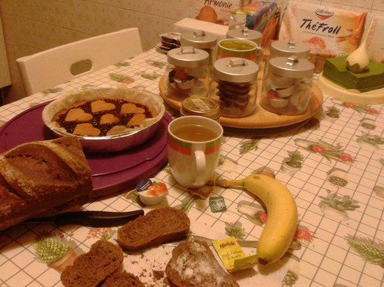 B&B Melizio: Prima colazione (appartamento)