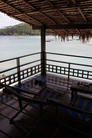 Cookies's Salad Resort: sea view