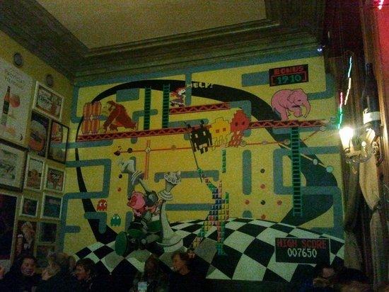 Café le Lombard: Mural