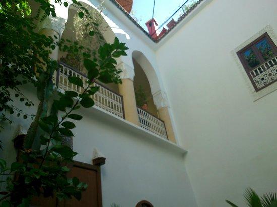 Riad Dar El Aila : Une terrasse