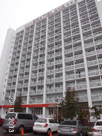 Bratislava Hotel: Rückseite