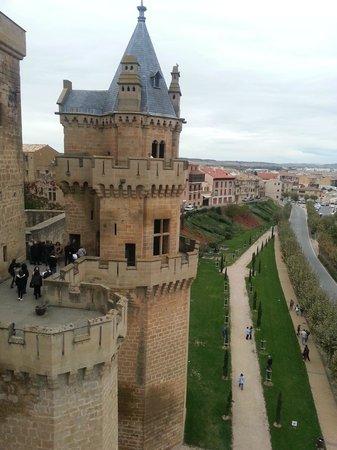 Palacio Real de Olite: vista general