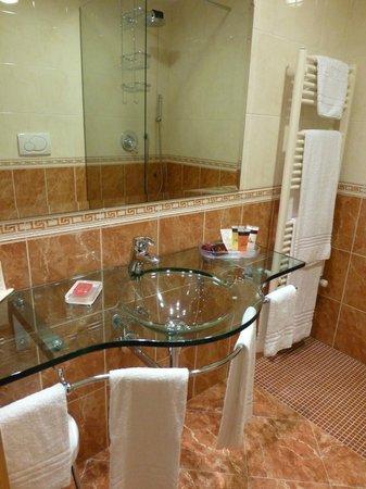 Agora Palace Hotel: Badezimmer