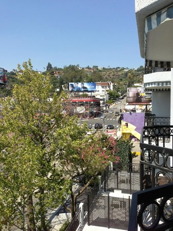 The London West Hollywood: Room view