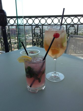 The London West Hollywood: Rooftop drinks and view