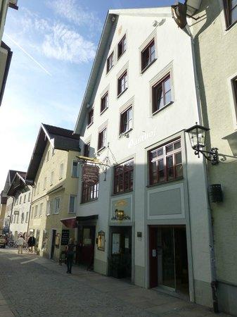 Altstadthotel Zum Hechten: Hotel direkt in der Altstadt
