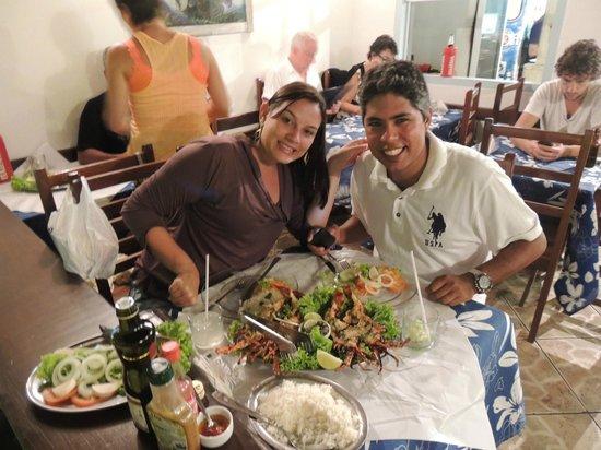 O Barco : Prato Lagosta na Chapa