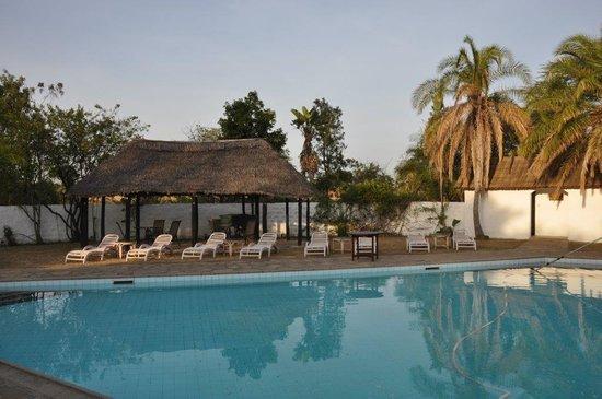 Mara River Lodge: Big swimming pool