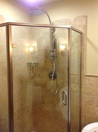 The Westin Sacramento: Always love the Westin Shower