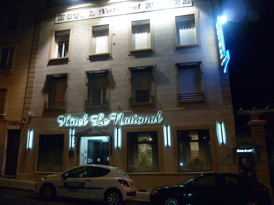Hotel Le National: Façade