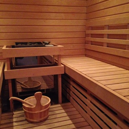Casale Belriguardo Room & Breakfast e Wellness: La sauna