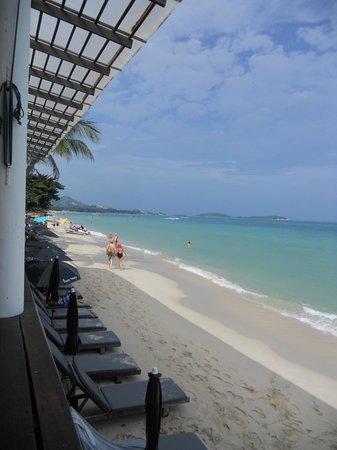 Baan Talay Resort: la playa