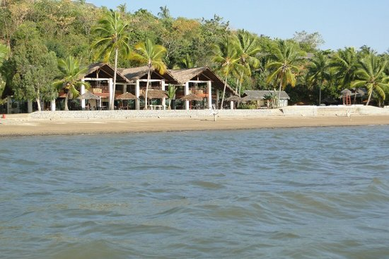 Anjiamarango Beach Resort: hotel vue mer