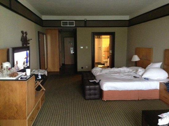 Le Meridien Ibom Hotel & Golf Resort: Room on ground floor