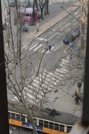 Windsor Hotel Milano : Вид из номера