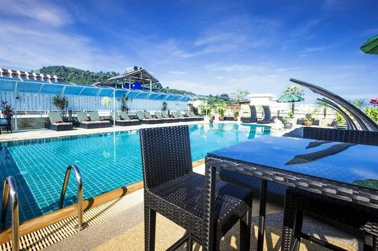 Sunshine Patong Resort: Piscine