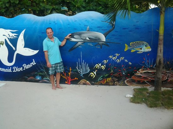 Little Mermaid Dive Resort : in der Hotelanlage