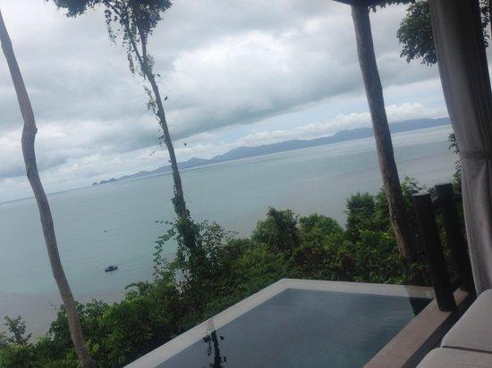 Four Seasons Resort Koh Samui Thailand : our private pool