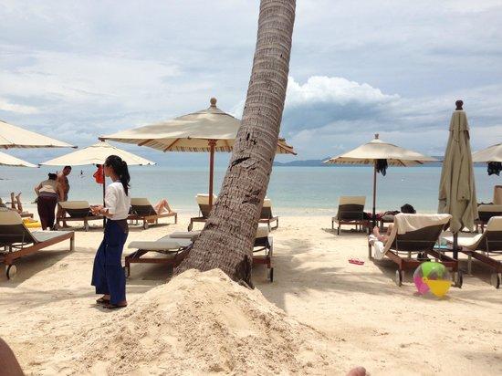 Four Seasons Resort Koh Samui Thailand : The beach
