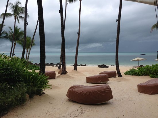 Four Seasons Resort Koh Samui Thailand: The beach
