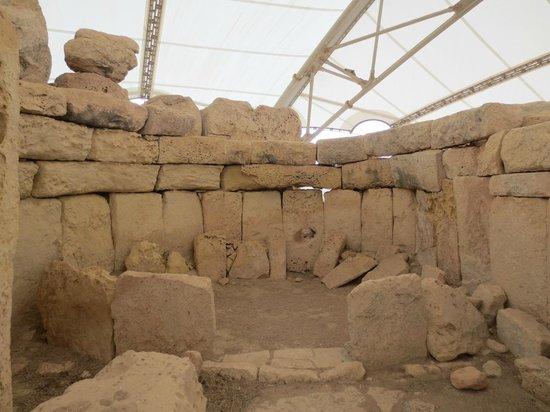 Hagar Qim: Inside of the site