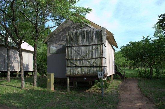 Nkambeni Safari Camp : Außenansicht