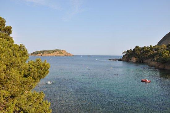 La Ciotat, Frankrike: вид на Зеленый остров