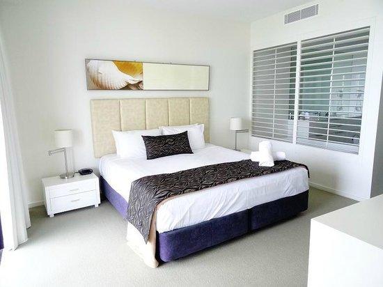 Ultra Broadbeach : Main bedroom of a 2 bedroom apartment