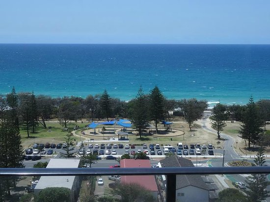 Ultra Broadbeach : View from an apartment on the 15-th level