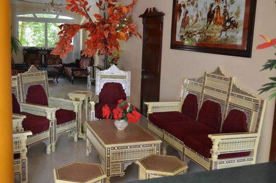 Dahab Hotel: Холл