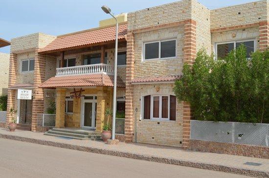 Dahab Hotel: Фасад