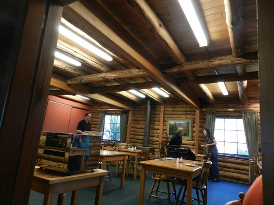 Lemonthyme Wilderness Retreat: Breakfast room