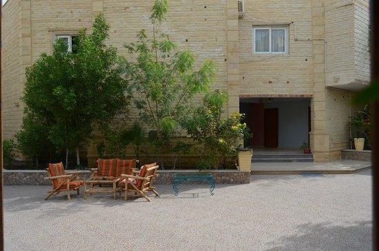 Dahab Hotel: Внутриний дворик