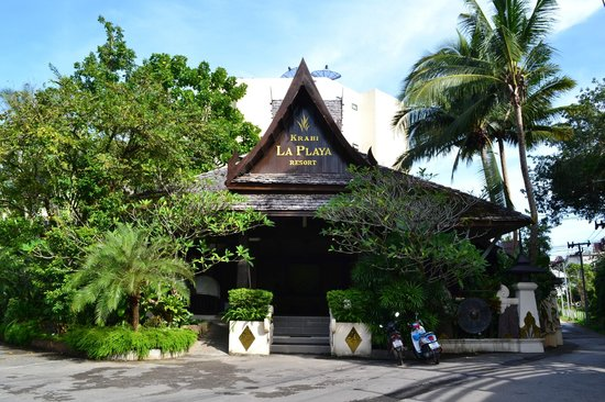 Krabi La Playa Resort: Территория отеля