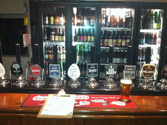 The Cask Pub & Kitchen: Beer selection