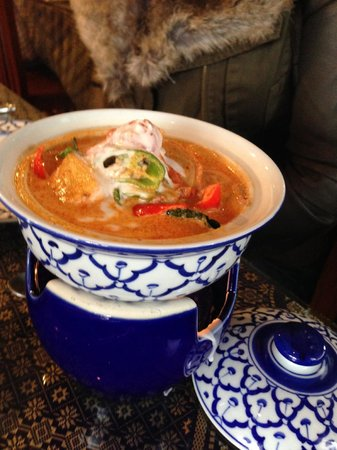 Siam Garden: red curry
