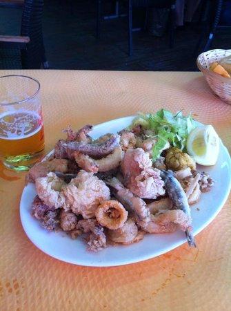 Restaurante La Escollera: fritura malagueña
