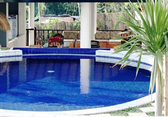 Pecatu Guest House: Swimming pool