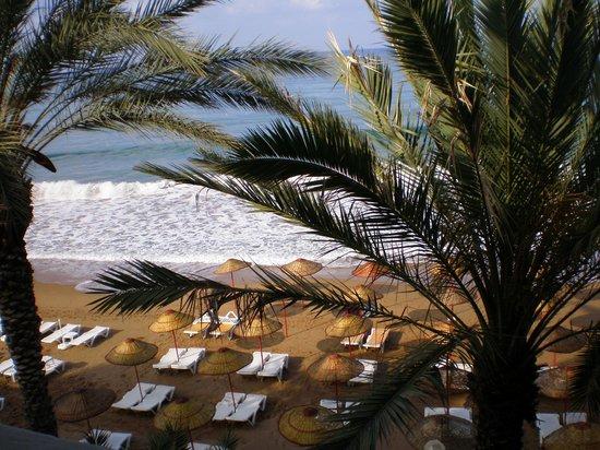 Rubi Hotel: вид с балкона нашего номера